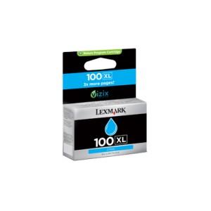 Lexmark Nº 100XL Cartucho original Cyan PARA LA IMPRESORA Lexmark S402 Tinteiros