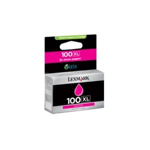 Lexmark Nº 100XL Cartucho original Magenta PARA LA IMPRESORA Lexmark S402 Tinteiros