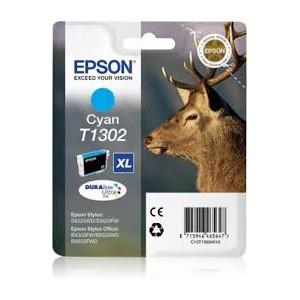 Cartucho EPSON T1302 CYAN ORIGINAL PARA LA IMPRESORA Epson WorkForce WF-7515 Tinteiros