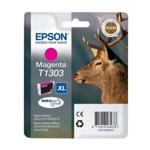 Cartucho EPSON T1303 MAGENTA ORIGINAL PARA LA IMPRESORA Epson Stylus Office BX 525 WD Tinteiros