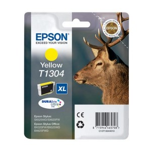 Cartucho EPSON T1304 AMARILLO ORIGINAL PARA LA IMPRESORA Epson WorkForce WF-3010DW Tinteiros