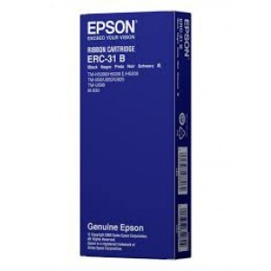 Epson ERC31 Negro Original PERTENENCIENTE A LA REFERENCIA Epson ERC31 Fitas de Transferência