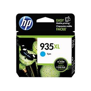 HP 935XL Cyan Cartucho de tinta original PARA LA IMPRESORA Hp OfficeJet 6812 Tinteiros
