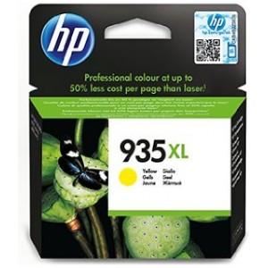 HP 935XL Amarillo Cartucho de tinta original PERTENENCIENTE A LA REFERENCIA HP 934 / 934XL / 935 / 935XL Tinteiros