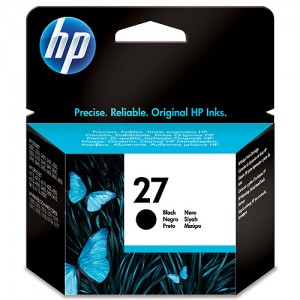 HP 27 Cartucho original de tinta PARA LA IMPRESORA HP DeskJet 3745 Tinteiros