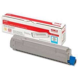 Toner OKI C8600 / C8800 Original Cyan PARA LA IMPRESORA OKI C8600 Toner