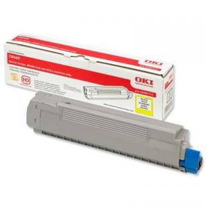 Toner OKI C8600 / C8800 Original Amarillo PARA LA IMPRESORA OKI C8600 Toner