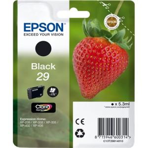 Epson 29 Negro, Cartucho de tinta original PARA LA IMPRESORA Epson Expression Home XP-435 Tinteiros