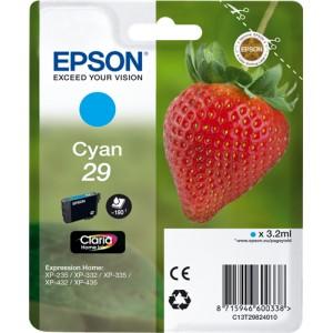 Epson 29 Cyan, Cartucho de tinta original  PERTENENCIENTE A LA REFERENCIA Epson 29 y 29XL Tinteiros