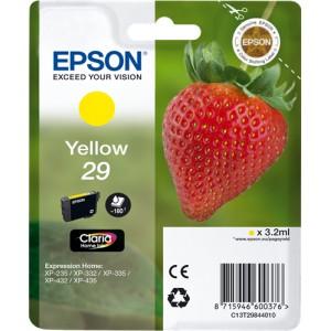 Epson 29 Amarillo, Cartucho de tinta original PERTENENCIENTE A LA REFERENCIA Epson 29 y 29XL Tinteiros