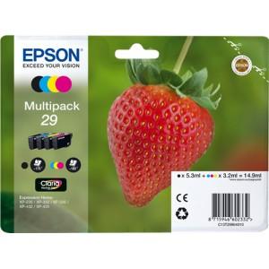 Epson 29 pack colores, cartuchos de tinta original PERTENENCIENTE A LA REFERENCIA Epson 29 y 29XL Tinteiros