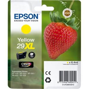 Epson 29XL Amarillo, Cartucho de tinta original PARA LA IMPRESORA Epson Expression Home XP-435 Tinteiros