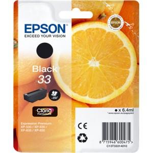 Epson 33 Negro, Cartucho de tinta original PARA LA IMPRESORA Epson Expression Premium XP-645 Tinteiros