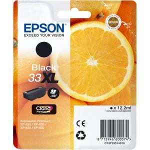 Epson 33XL Negro, Cartucho de tinta original  PARA LA IMPRESORA Epson Expression Premium XP-645 Tinteiros