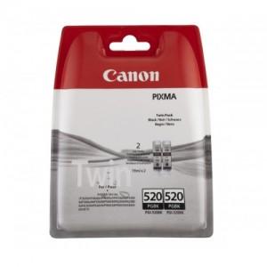 PACK 2 CARTUCHOS CANON PGI-520 NEGRO ORIGINALES PARA LA IMPRESORA Canon Pixma MP990 Tinteiros
