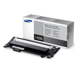 Toner Samsung CLP360 (CLT-K406S) Negro Original PARA LA IMPRESORA Samsung Xpress SL-C410W Toner