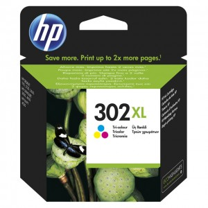 HP 302XL  COLOR TINTA ORIGINAL PARA LA IMPRESORA HP DeskJet 3630 All-in-One Tinteiros
