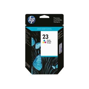 HP 23 TRICOLOR TINTA ORIGINAL PARA LA IMPRESORA HP DeskJet 722c Tinteiros