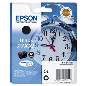 Epson 27xxl negro. T2791 cartucho de tinta original  PARA LA IMPRESORA Epson WorkForce WF-7110DTW Tinteiros