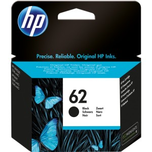 HP 62 NEGRO ORIGINAL PARA LA IMPRESORA HP Officejet 5746 e-All-in-One Tinteiros
