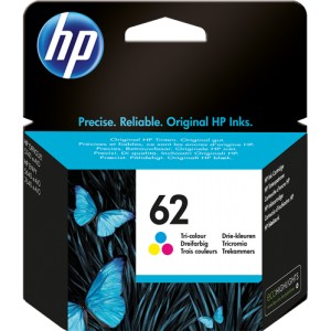 HP 62 TRICOLOR ORIGINAL PARA LA IMPRESORA HP OfficeJet 250 Mobile Tinteiros