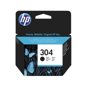 HP 304 Negro Tinta Original  PARA LA IMPRESORA HP Envy 5030 Tinteiros