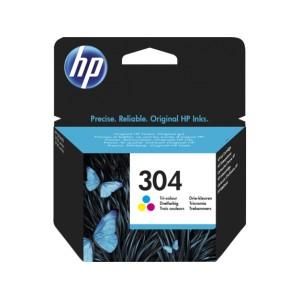 HP 304 Tricolor Tinta Original  PARA LA IMPRESORA Hp Deskjet 3762 Tinteiros