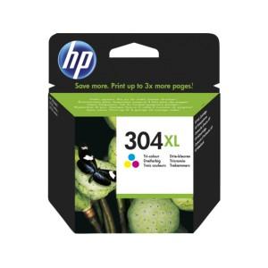 HP 304XL Tricolor Tinta Original  PARA LA IMPRESORA HP Deskjet 3730 Tinteiros