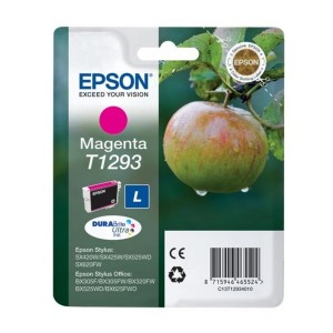 CARTUCHO ORIGINAL EPSON T1293 MAGENTA PARA LA IMPRESORA Epson WorkForce WF-3010DW Tinteiros