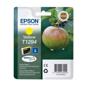 CARTUCHO ORIGINAL EPSON T1294 AMARILLO PARA LA IMPRESORA Epson WorkForce WF-3010DW Tinteiros