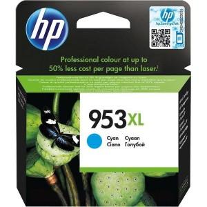 HP 953XL CYAN ORIGINAL PARA LA IMPRESORA HP Officejet Pro 8730 Tinteiros