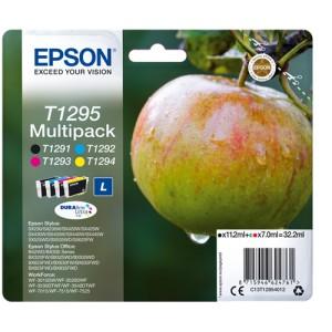 MULTIPACK ORIGINAL EPSON T1295 C13T12954012 PARA LA IMPRESORA Epson Stylus SX235W Tinteiros