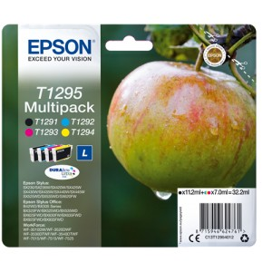MULTIPACK ORIGINAL EPSON T1295 C13T12954012 PARA LA IMPRESORA Epson WorkForce WF-7515 Tinteiros