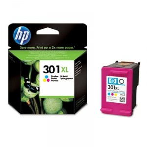HP 301XL COLOR CARTUCHO ORIGINAL PARA LA IMPRESORA HP Officejet 4631 Tinteiros