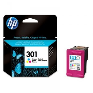HP 301 COLOR CARTUCHO ORIGINAL PARA LA IMPRESORA HP Envy 5535 e-All-in-One Tinteiros