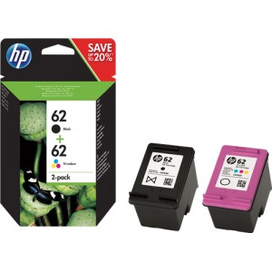 HP 62XL Color Original PARA LA IMPRESORA HP OfficeJet 250 Mobile Tinteiros