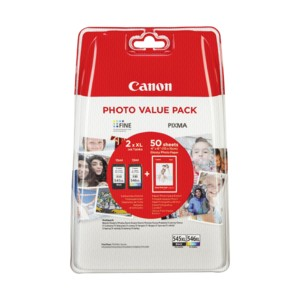 PACK CANON PG545XL/CL546XL ORIGINAL + PAPEL (8286B006) PARA LA IMPRESORA Canon Pixma MG2550 All-in-One Tinteiros