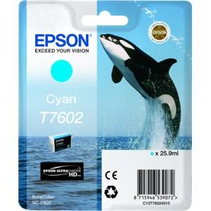 Cartucho de tinta original Epson T7601 negro foto PERTENENCIENTE A LA REFERENCIA Epson T7601/2/3/4/5/6/7/8/9 Tinteiros