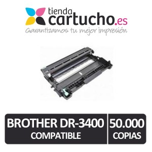 Tambor Brother DR-3400 Compatible PARA LA IMPRESORA Brother DCP-L5500DN Toner
