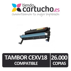 Tambor Canon CEXV18 Compatible PARA LA IMPRESORA Canon IR 1024 IF Toner