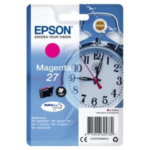 Epson 27 Magenta. T2703 Cartucho de Tinta Original PARA LA IMPRESORA Epson WorkForce WF-7110DTW Tinteiros