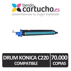 Tambor Konica Minolta C220 Negro compatible PARA LA IMPRESORA Konica Minolta Bizhub C360 Toner