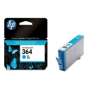 HP 364 CYAN CARTUCHO ORIGINAL PARA LA IMPRESORA HP Photosmart Wireless All-in-One Tinteiros