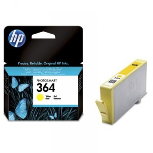 HP 364 AMARILLO CARTUCHO ORIGINAL PARA LA IMPRESORA HP Photosmart Wireless All-in-One Tinteiros