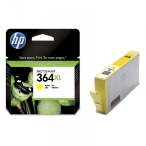 HP 364XL AMARILLO CARTUCHO ORIGINAL PARA LA IMPRESORA HP Photosmart Wireless All-in-One Tinteiros