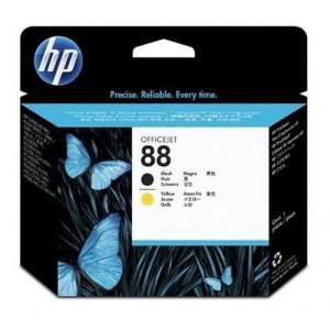 Cabezal HP 88 C9381A Nº88 Negro y amarillo PARA LA IMPRESORA HP OfficeJet Pro K8600DN Tinteiros