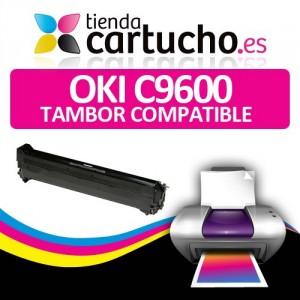 TAMBOR NEGRO OKI COMPATIBLE C9600 PARA LA IMPRESORA OKI C9650 Toner