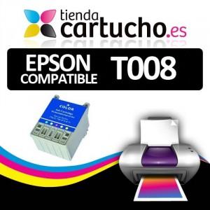 CARTUCHO COMPATIBLE EPSON T008 PARA LA IMPRESORA Epson  Stylus Photo 875 DC Tinteiros