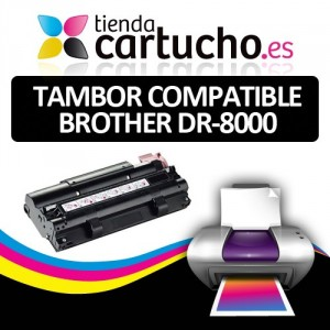 TAMBOR BROTHER DR-8000 COMPATIBLE PARA LA IMPRESORA Brother MFC-9030 Toner
