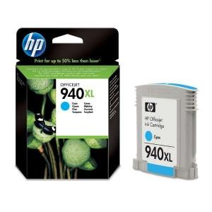 HP 940 XL CYAN (1.400 páginas) CARTUCHO ORIGINAL PERTENENCIENTE A LA REFERENCIA HP 940 / 940XL Tinteiros